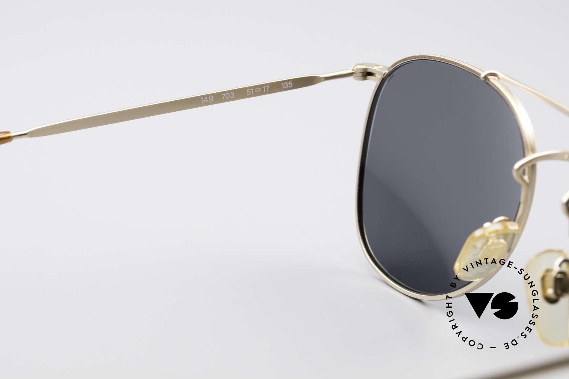 Giorgio Armani 149 Small 90'S Aviator Sunglasses, never worn (like all our 1990's designer classics), Made for Men and Women
