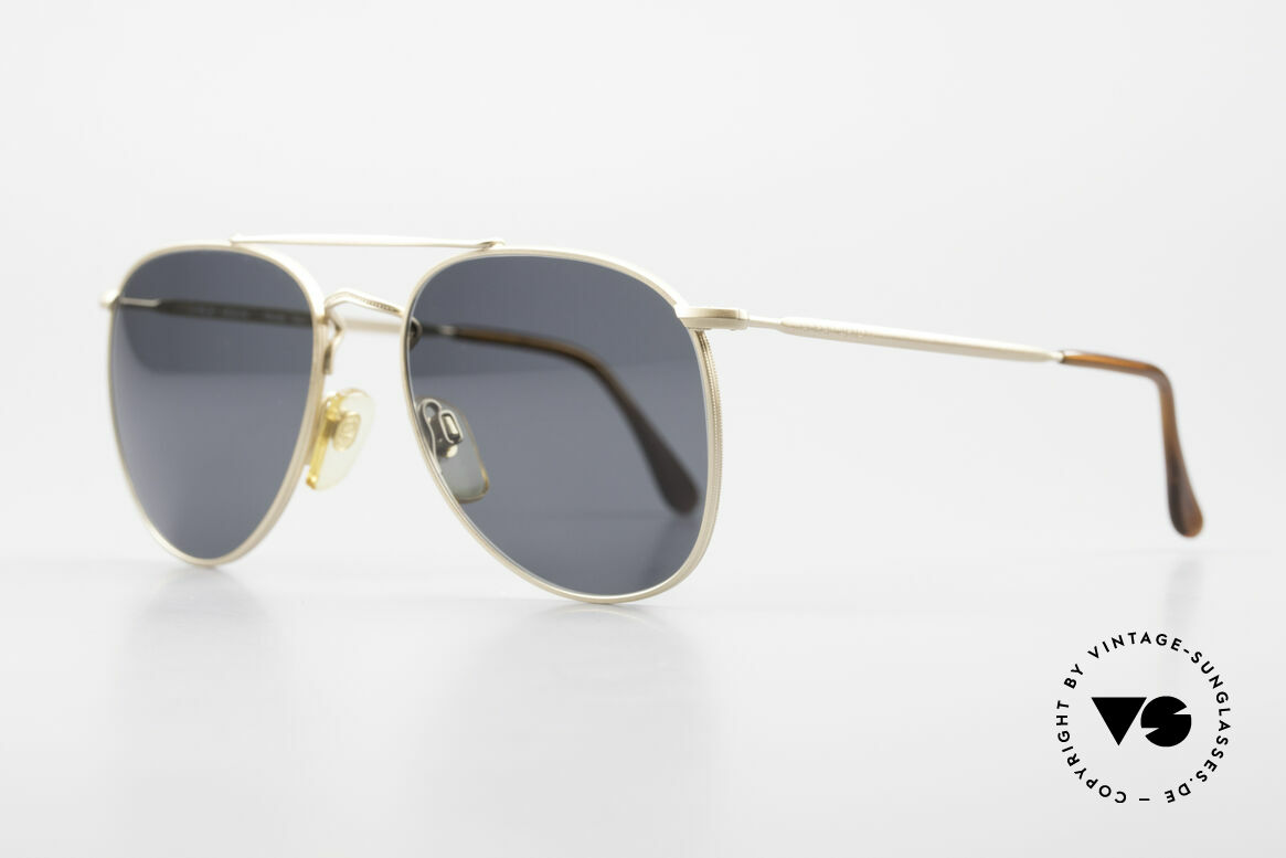 Giorgio Armani 149 Small 90'S Aviator Sunglasses, highest funktionality for an excellent wearability, Made for Men and Women
