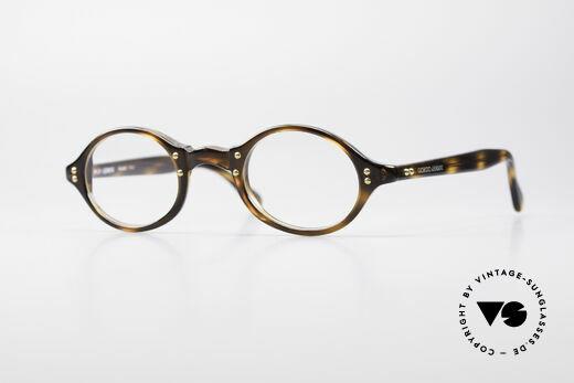 Giorgio Armani 342 Small Oval 90's Eyeglasses Details