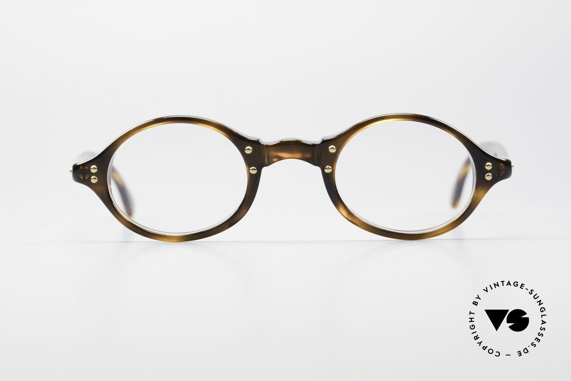 Giorgio Armani 342 Small Oval 90's Eyeglasses, a true classic in design & coloring (timeless elegant), Made for Men and Women
