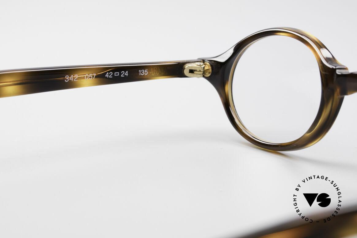 Giorgio Armani 342 Small Oval 90's Eyeglasses