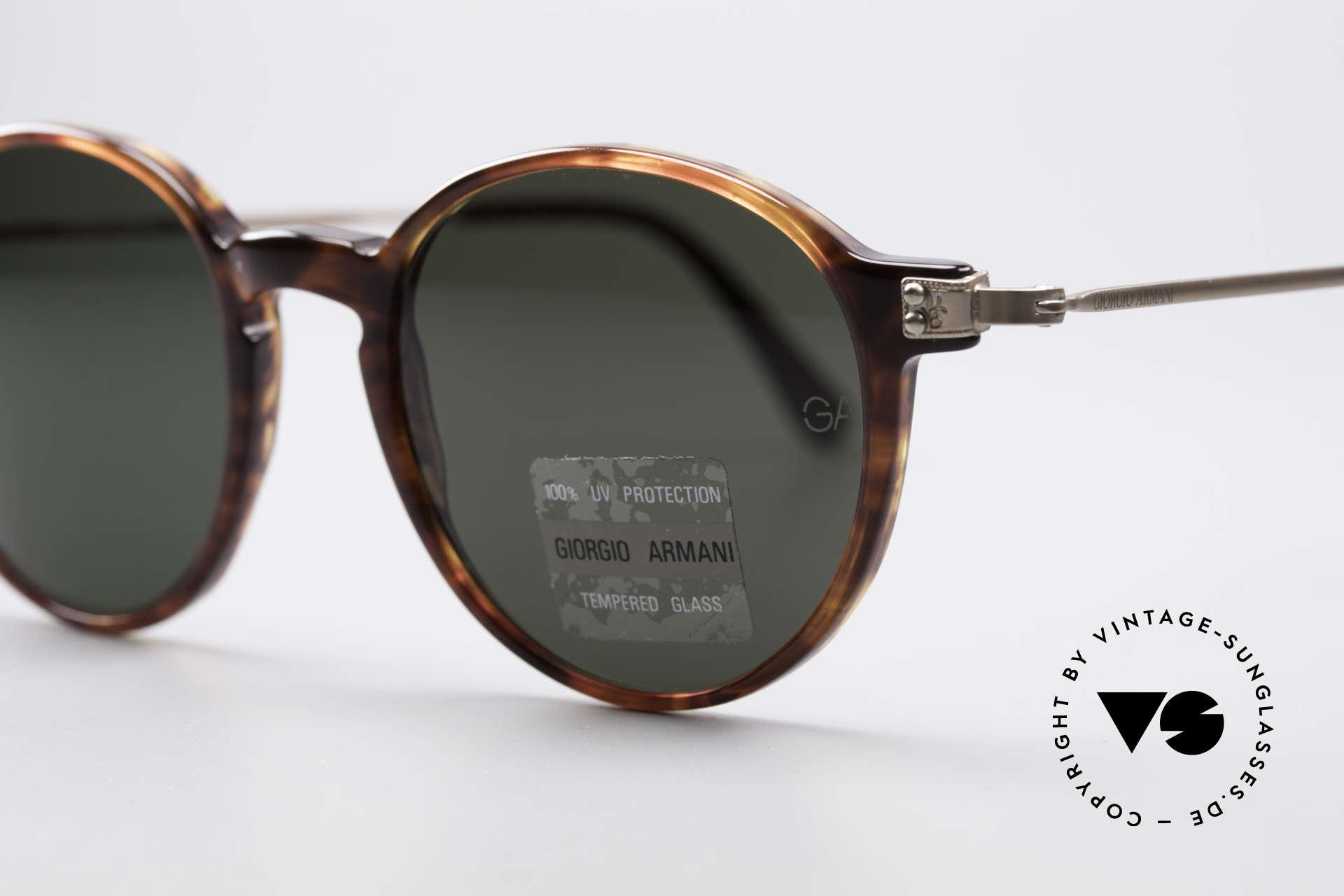 Giorgio Armani 358 Vintage Panto Sunglasses, a brilliant combination of quality, design and comfort, Made for Men