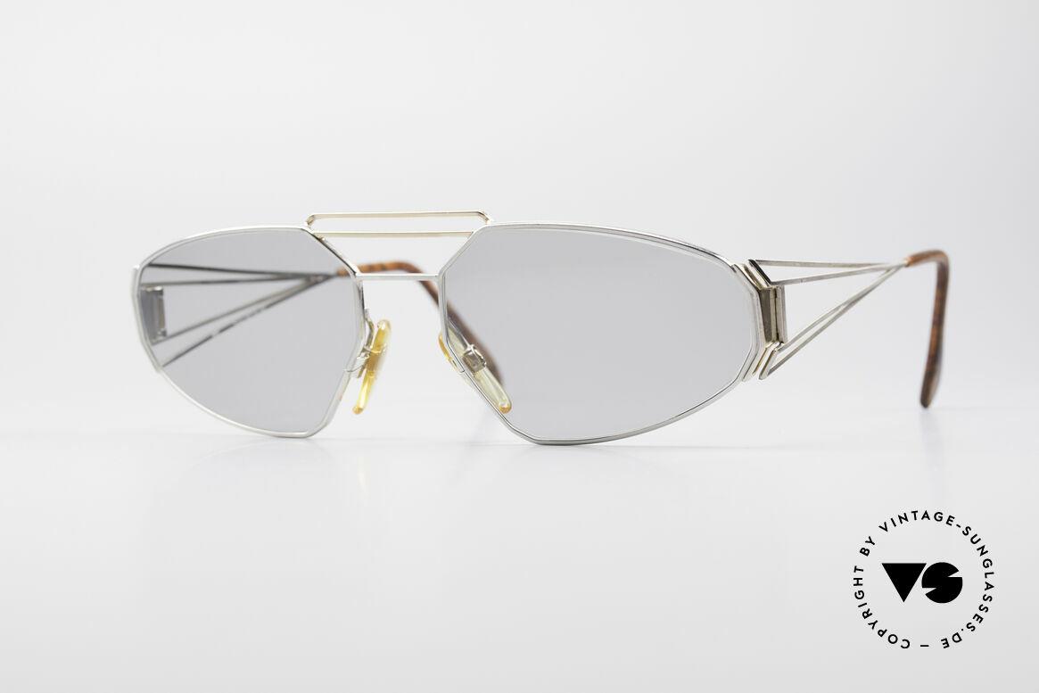 Zollitsch Trapez Geometrical Designer Frame, extraordinary vintage designer shades by Zollitsch, Made for Men