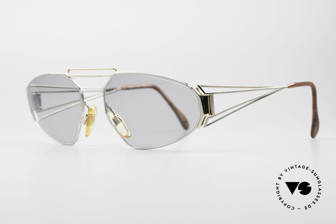 Zollitsch Trapez Geometrical Designer Frame, true eye-catcher in top-quality (made in Germany), Made for Men