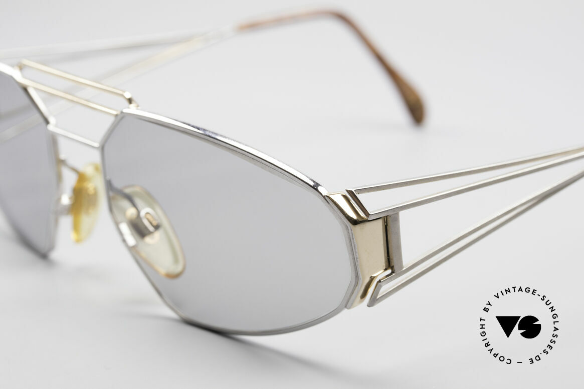 Zollitsch Trapez Geometrical Designer Frame, unworn (like all our rare vintage Zollitsch glasses), Made for Men