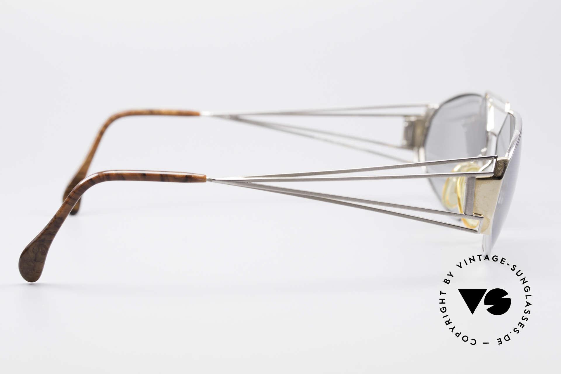 Zollitsch Trapez Geometrical Designer Frame, frame fits lenses of any kind (optical or sun lenses), Made for Men
