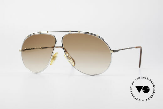 Zollitsch Marquise Rare Vintage Sunglasses Details