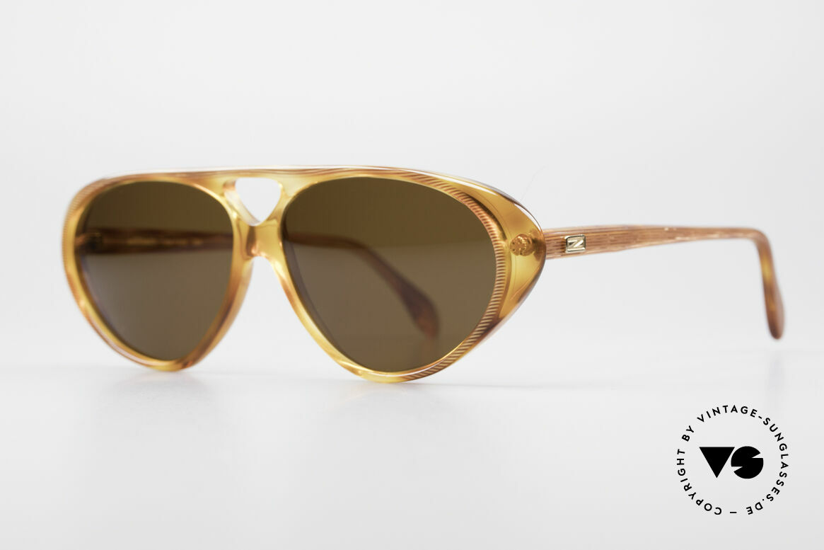 Zollitsch 178 Extraordinary Sunglasses, noble, timeless tortoise frame pattern (& 100% UV), Made for Men and Women