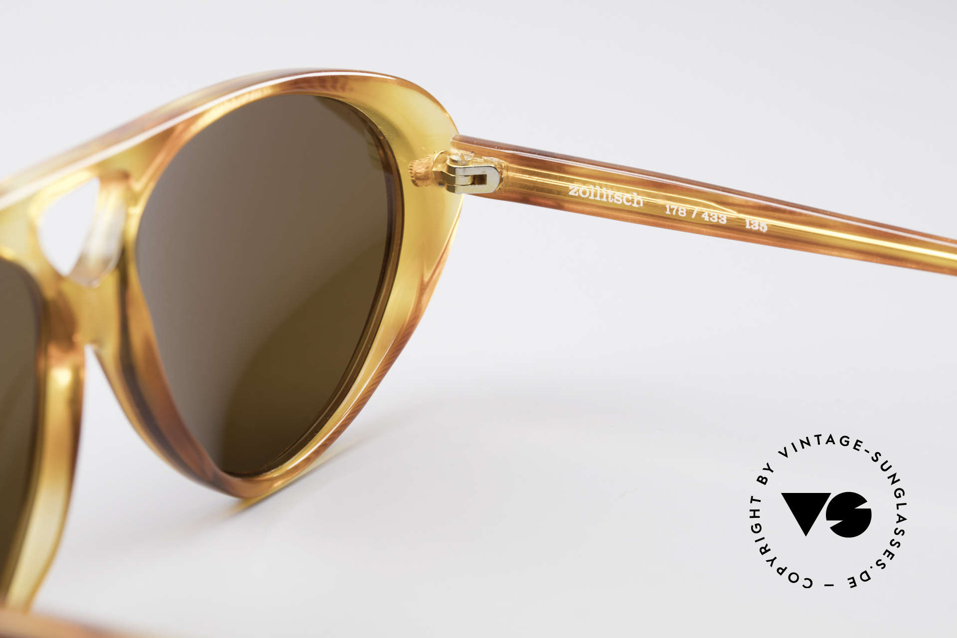 Zollitsch 178 Extraordinary Sunglasses, lenses can be replaced with prescriptions optionally, Made for Men and Women
