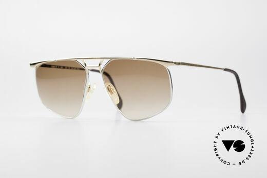 Zollitsch Cadre 9 18kt Gold Plated Sunglasses Details
