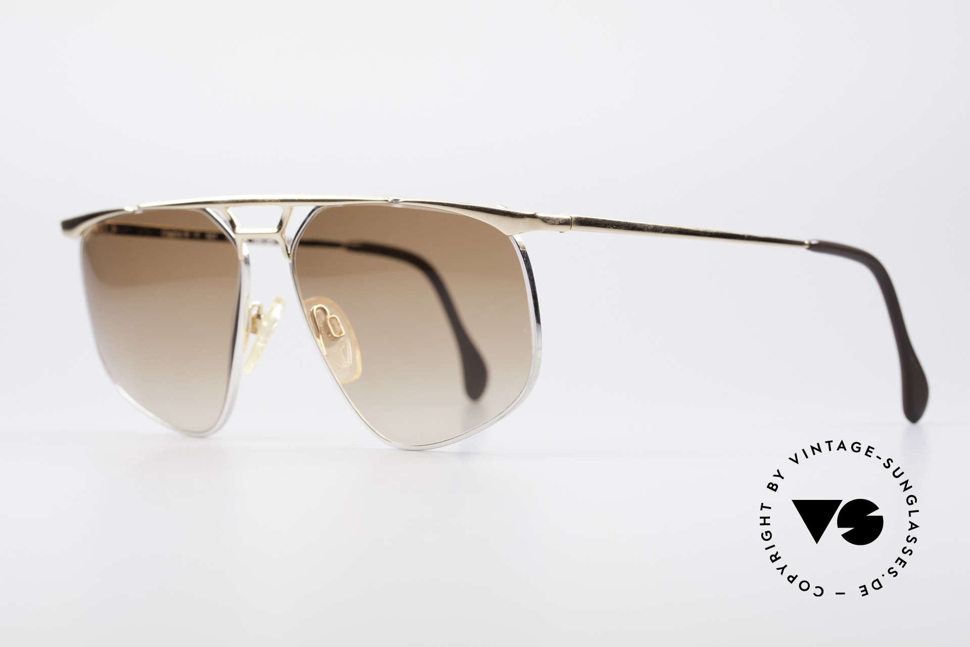 Zollitsch Cadre 9 18kt Gold Plated Sunglasses, tangible, high-end quality (made in WEST Germany), Made for Men
