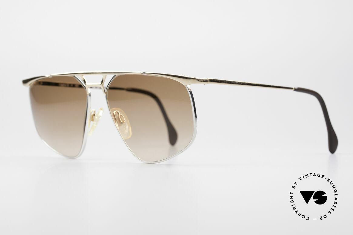 Zollitsch Cadre 9 18kt Gold Plated Sunglasses