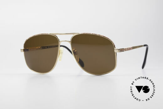 Zollitsch Cadre 8 18k Gold Plated Sunglasses Details