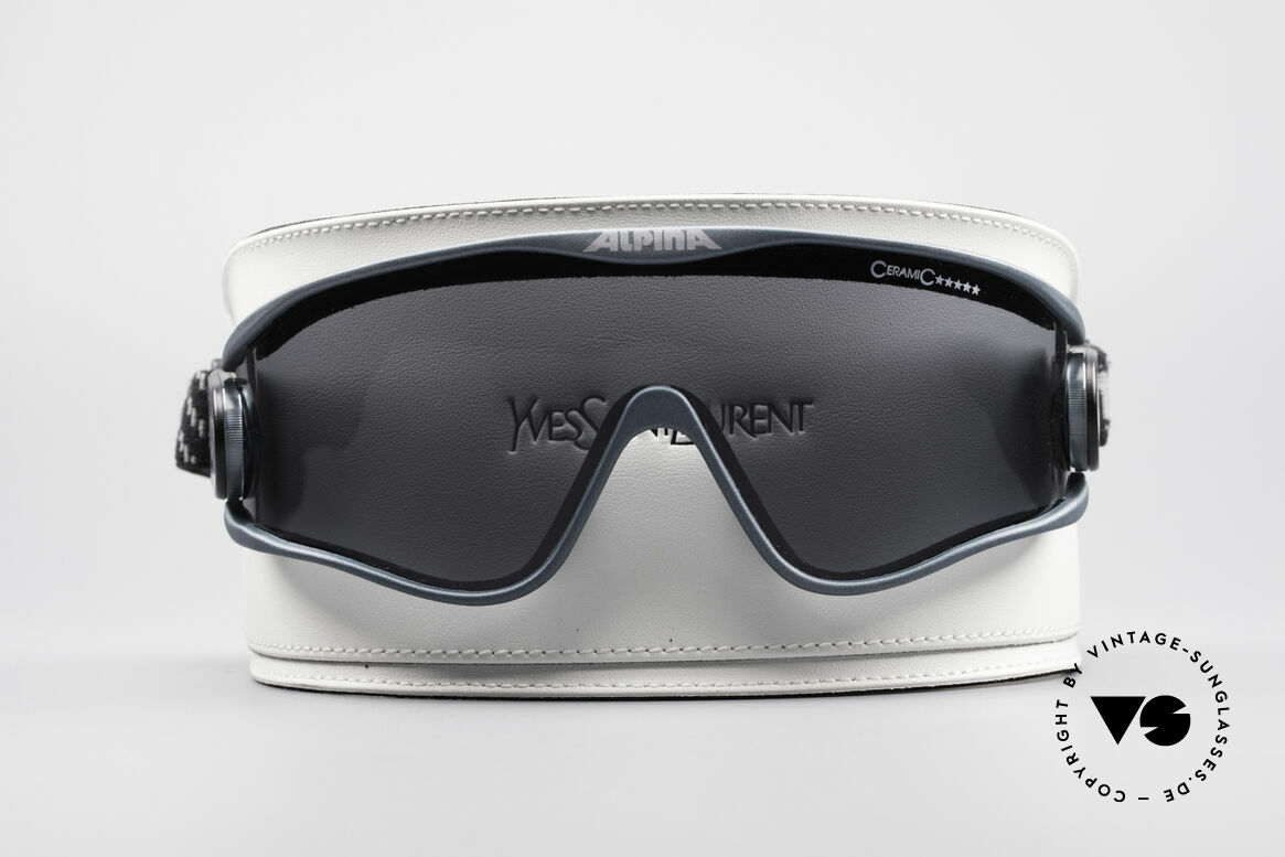 Alpina S3 Ceramic 90's Celebrity Sunglasses, 2nd hand, but in a good condition with new YSL case, Made for Men and Women