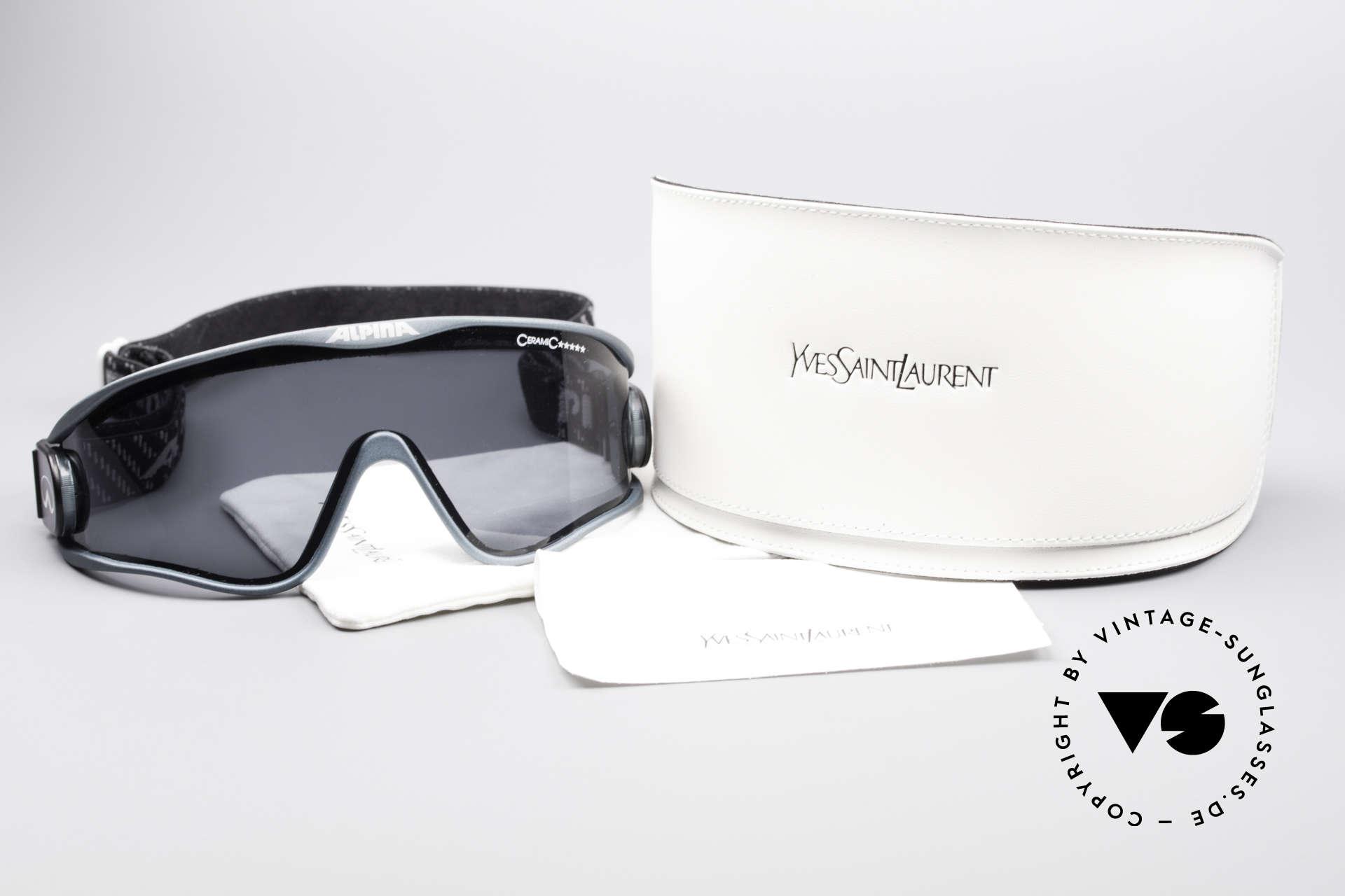 Alpina S3 Ceramic 90's Celebrity Sunglasses, NO RETRO SHADES; but a are old 1990's ORIGINAL!, Made for Men and Women
