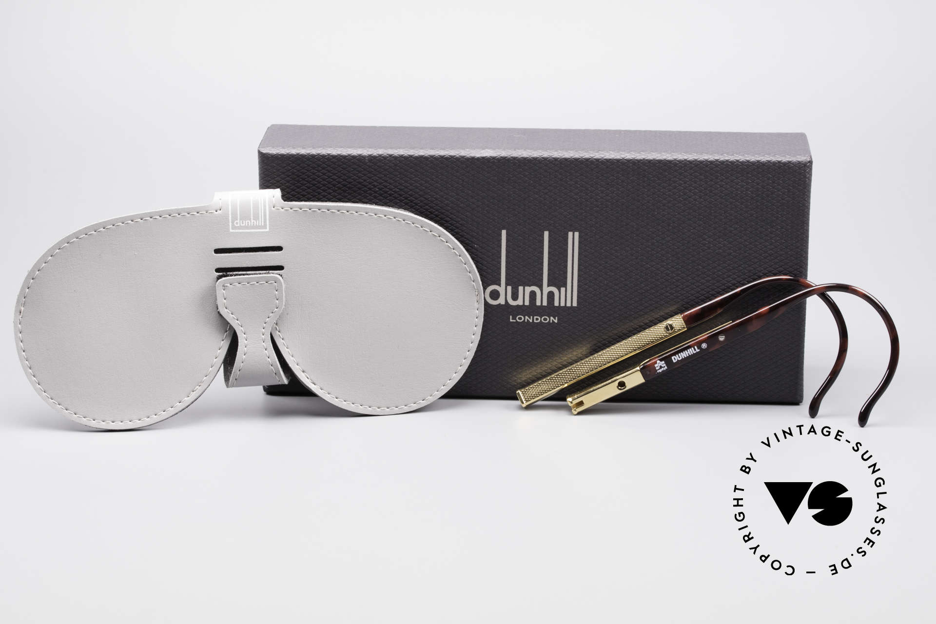Dunhill 6006 80's Sunglasses Gentlemen, never worn (like all our rare vintage 80's Dunhill), Made for Men
