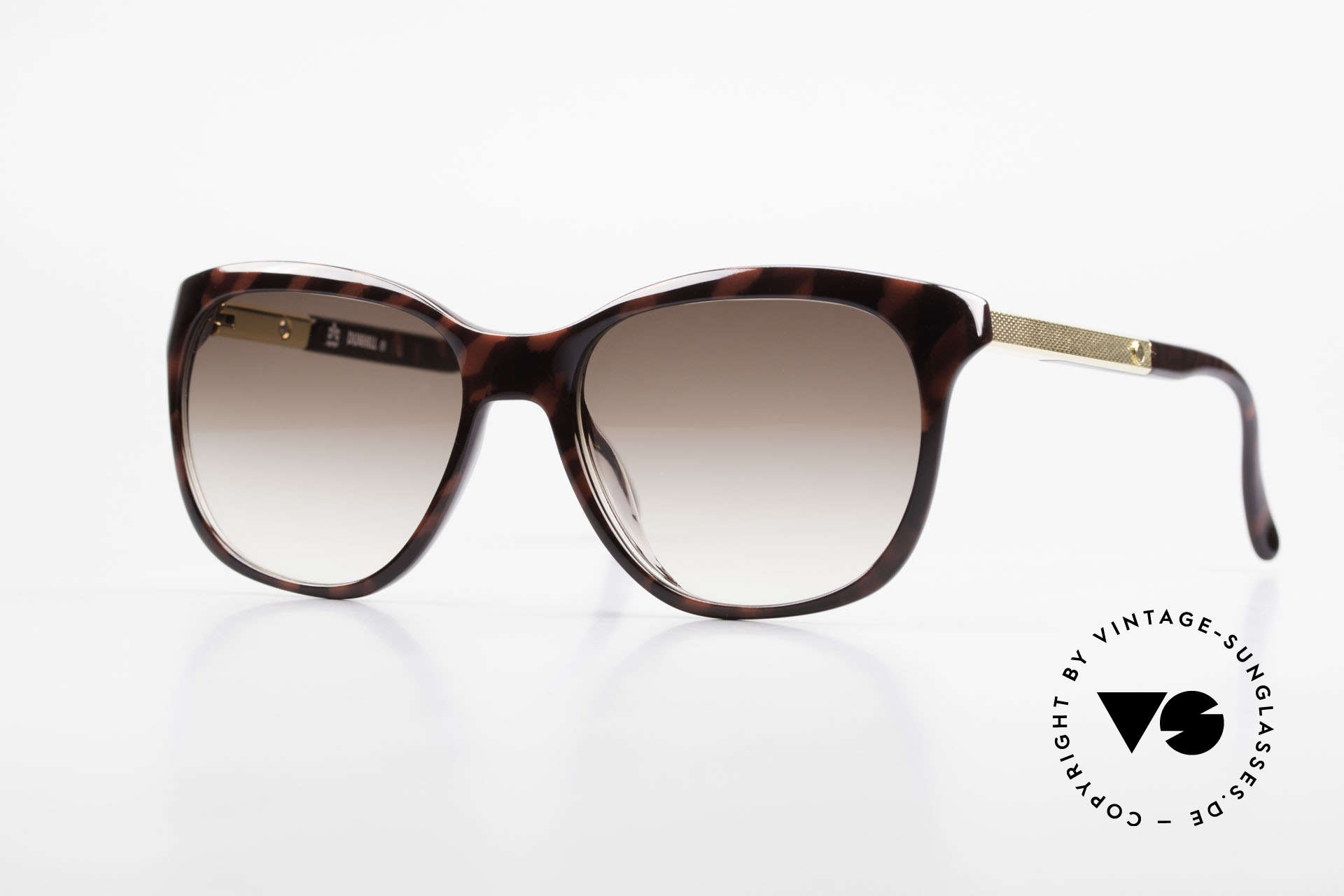 Dunhill 6006 Old 80's Sunglasses Gentlemen, timeless, stylish design from 1982, gold-plated, Made for Men