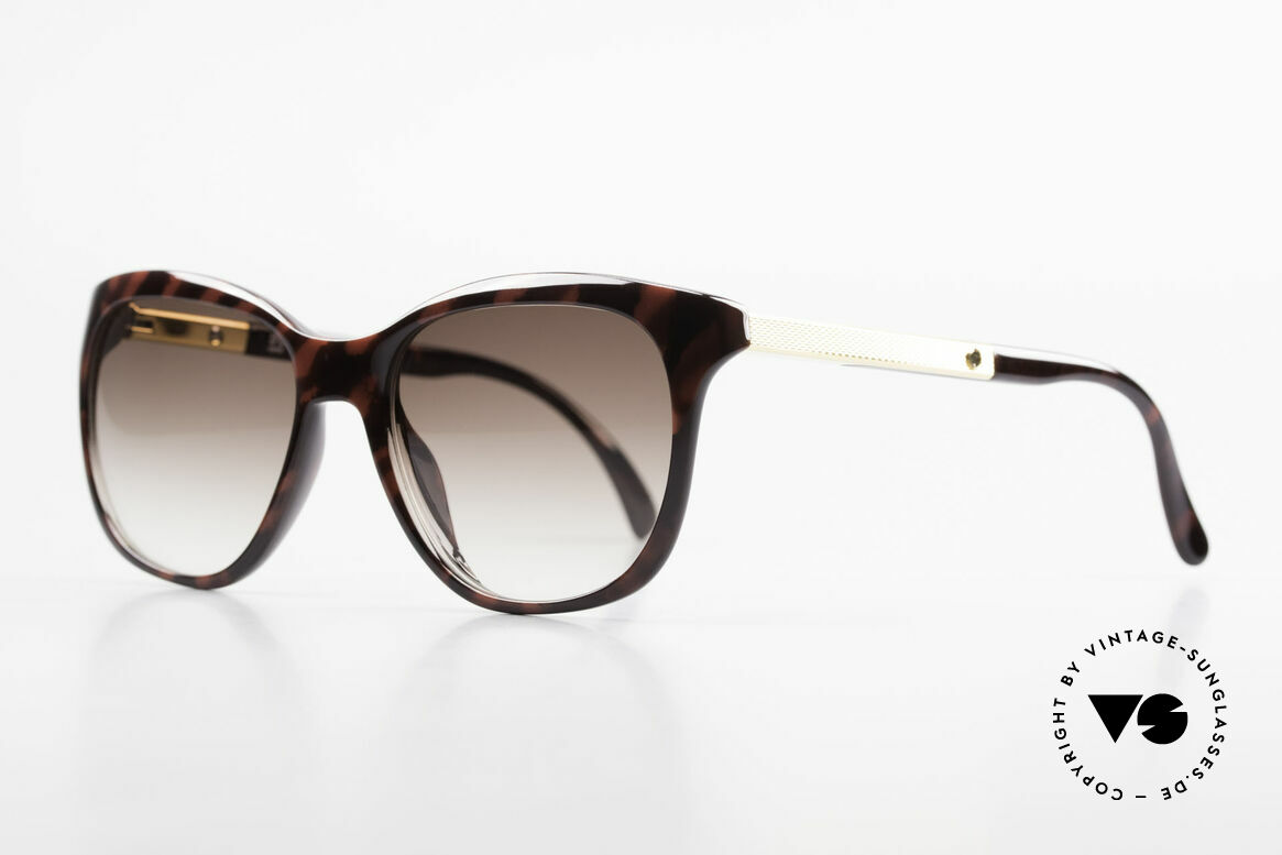 Dunhill 6006 Old 80's Sunglasses Gentlemen, perfect fit due to flexible spring hinges / joints, Made for Men