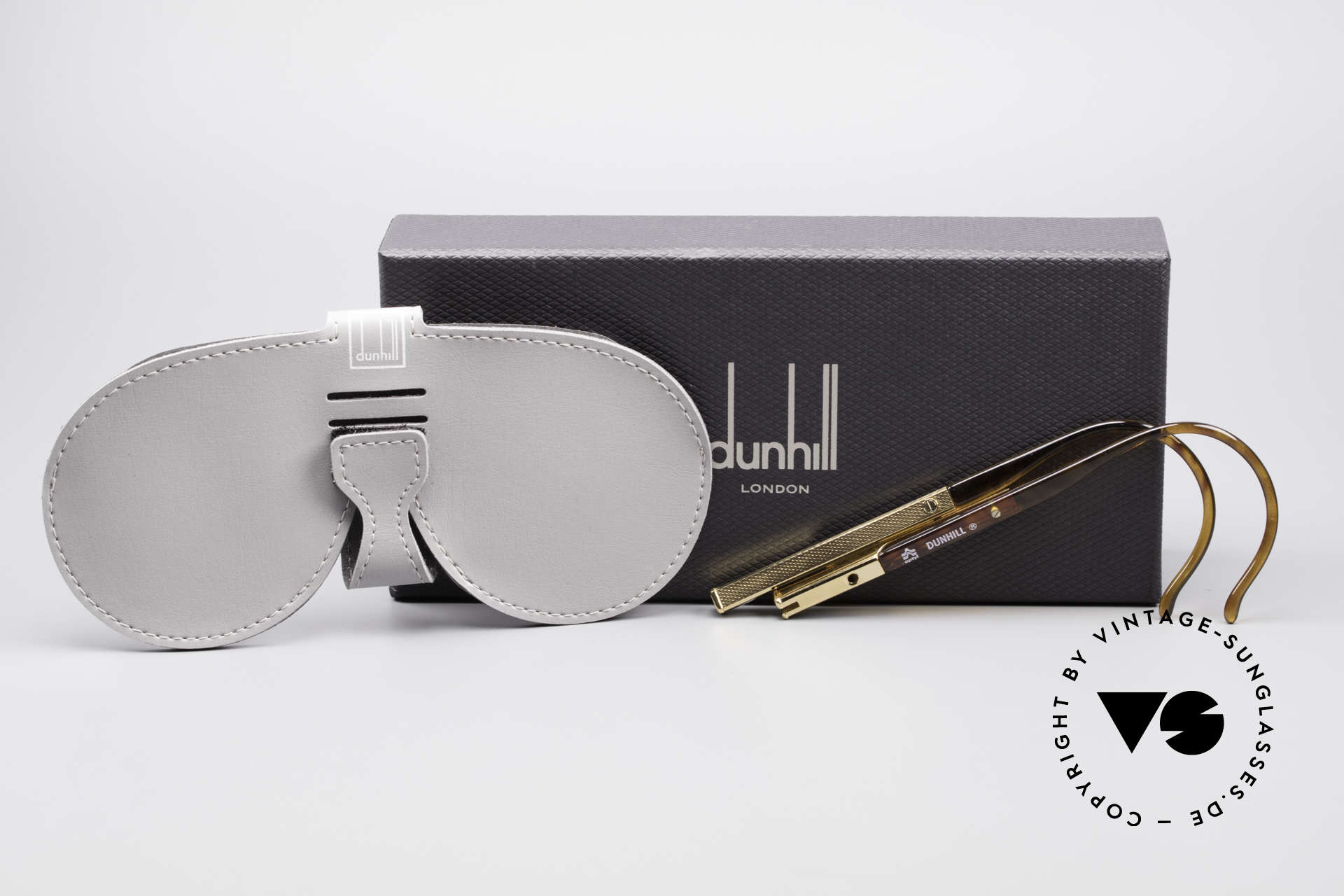 Dunhill 6006 80's Gentlemen's Sunglasses, never worn (like all our rare vintage 80's Dunhill), Made for Men