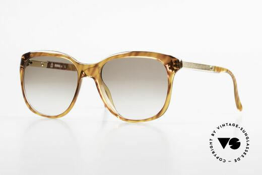 Dunhill 6006 80's Gentlemen's Sunglasses Details