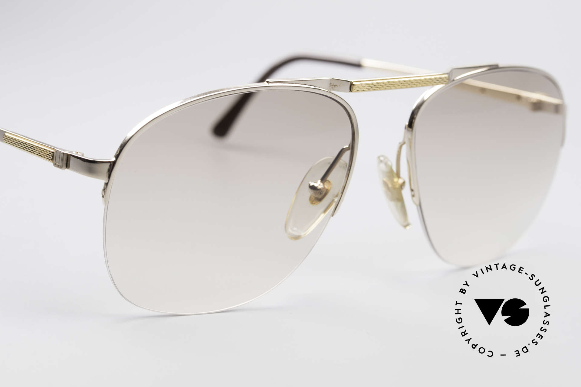 Dunhill 6022 Rare 80's Gentlemen's Frame, new old stock (like all our vintage Dunhill sunglases), Made for Men