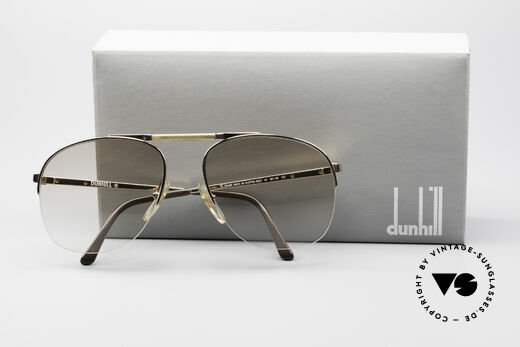 Dunhill 6022 Rare 80's Gentlemen's Frame, NO RETRO pilots SHADES, but authentic 1980's rarity, Made for Men