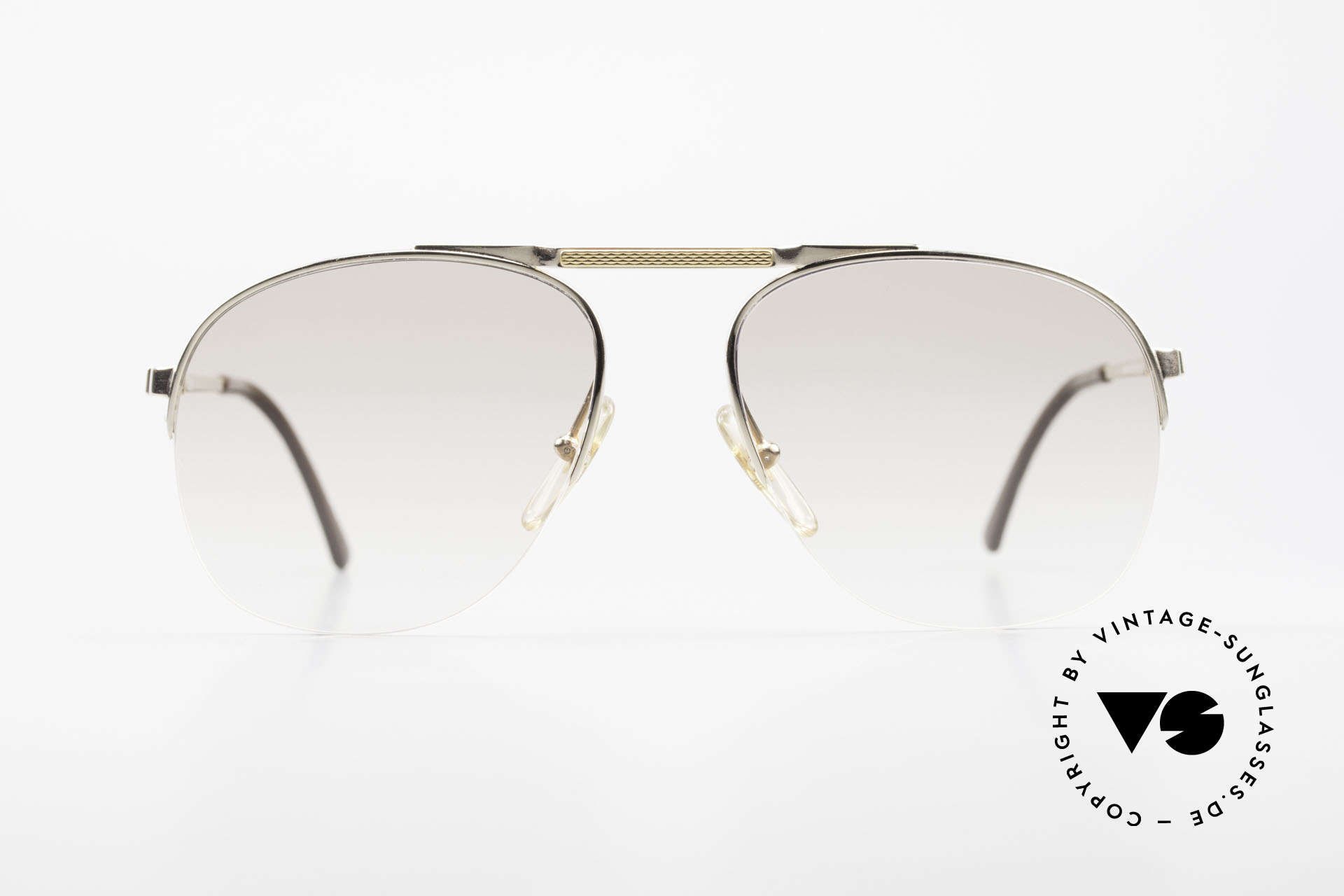 Dunhill 6022 Rare 80's Gentlemen's Frame, extremely noble men's glasses by Dunhill from 1984, Made for Men