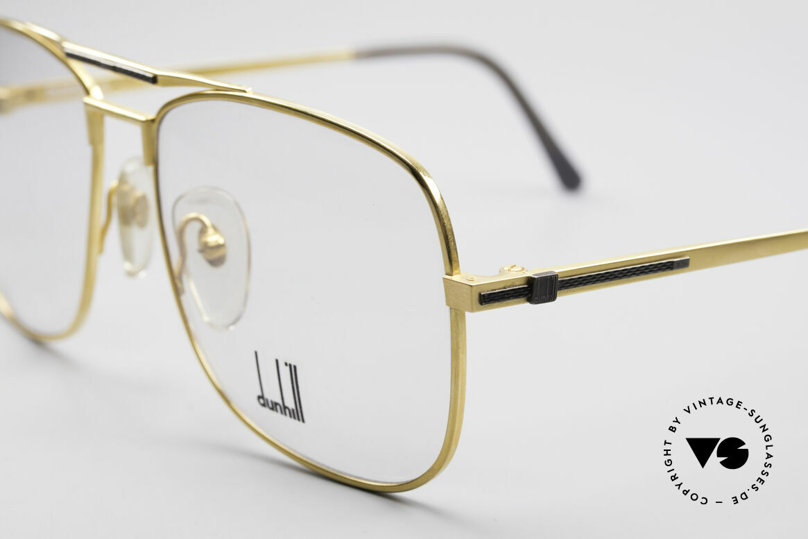Dunhill 6038 Gold-Plated Titanium Frame, (today, designer frames are made for less than 5 USD), Made for Men
