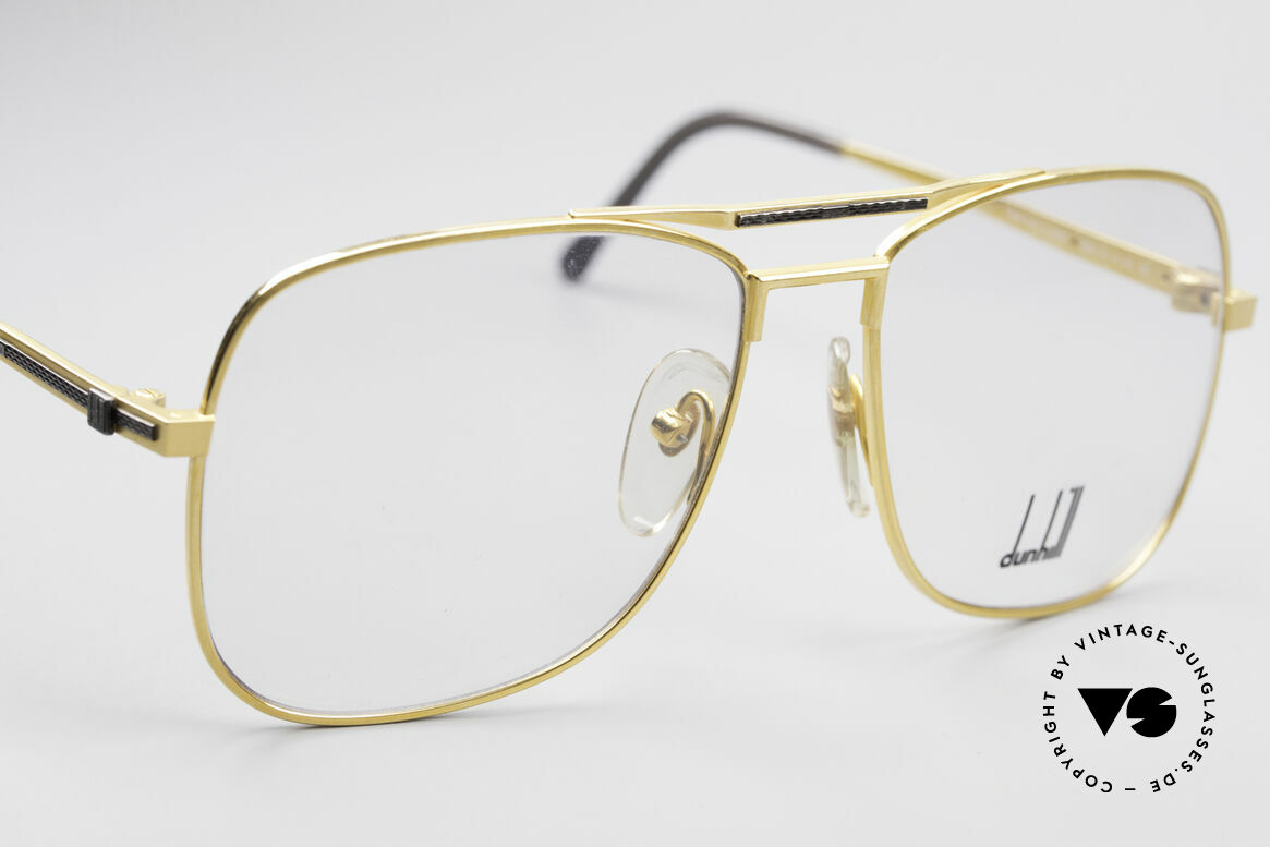 "Dunhill 6038 Gold-Plated Titanium Frame, genuine vintage ""must-have"" of incredible top-quality!, Made for Men"