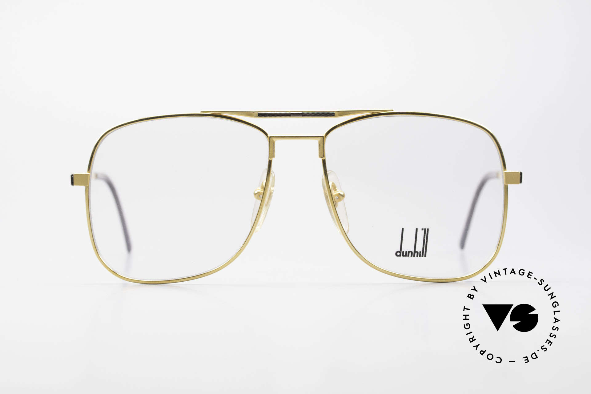 Dunhill 6038 Gold-Plated Titanium Frame, hard gold-plated ALFRED DUNHILL Titanium frame, Made for Men