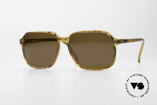 Dunhill 6008 Vintage Optyl Sunglasses Details