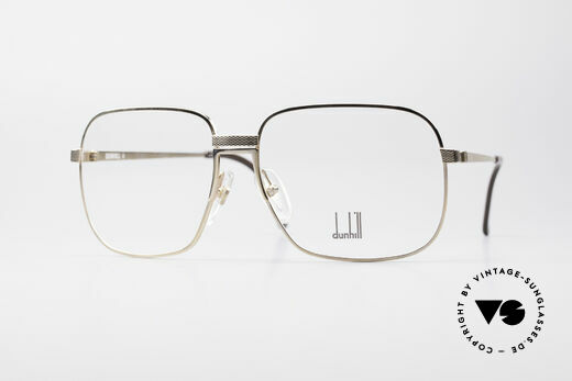 Dunhill 6090 Gold Plated 90's Eyeglasses Details