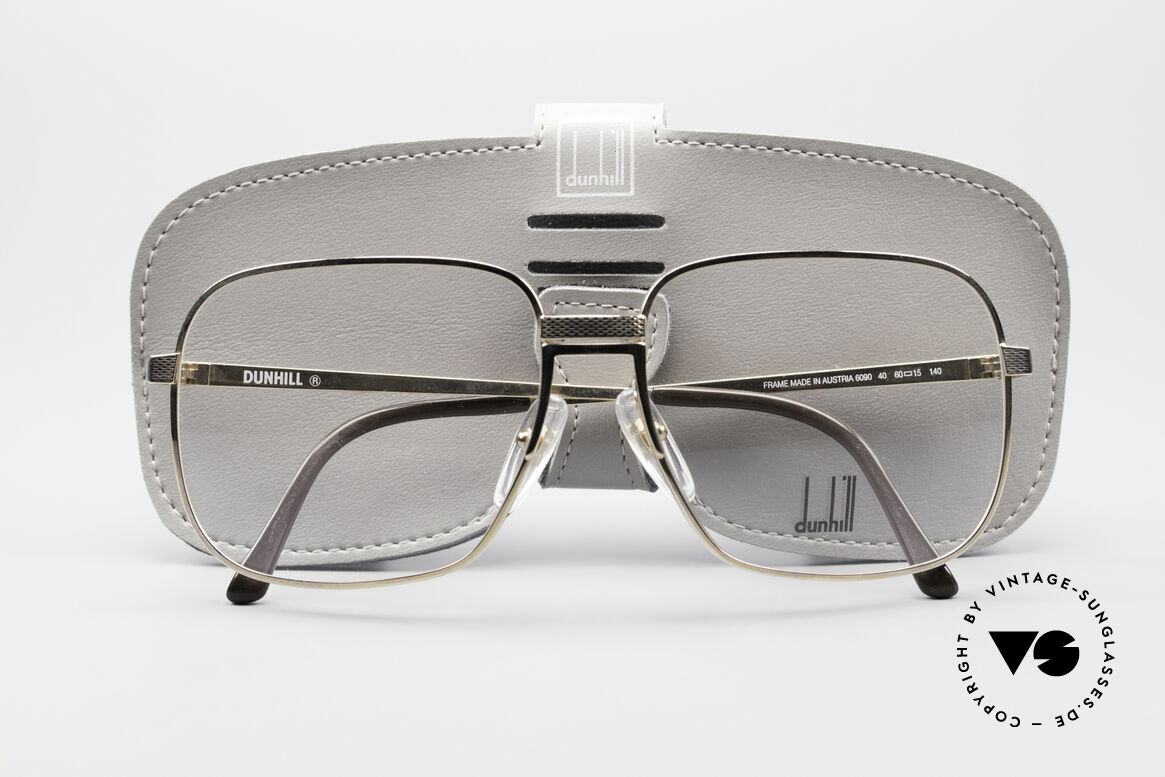 Dunhill 6090 Gold Plated 90's Eyeglasses