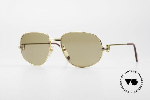 Cartier Romance LC - M Luxury Designer Sunglasses Details