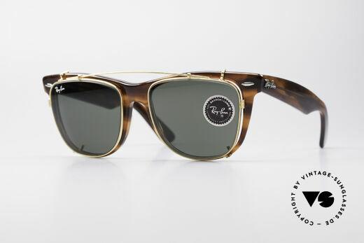 Ray Ban Wayfarer II JFK USA B&L Vintage Glasses Details