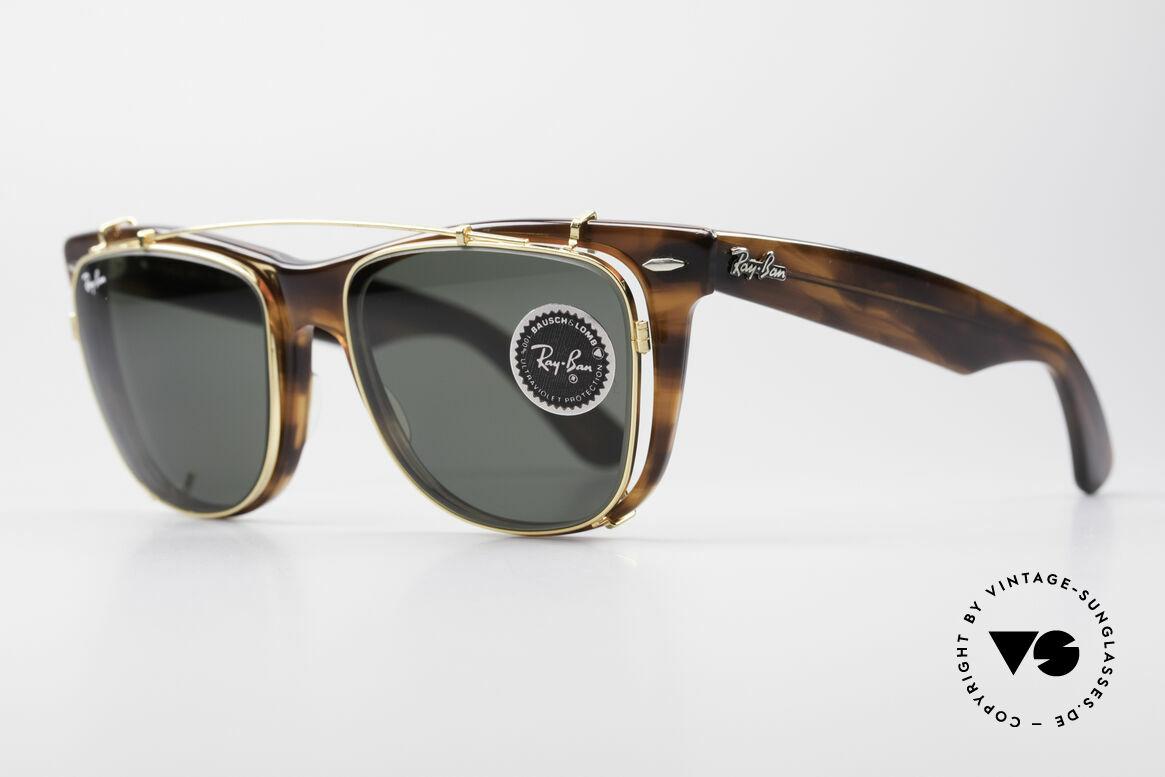Ray Ban Wayfarer II JFK USA B&L Vintage Glasses
