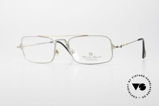 Aigner EA44 Rare 80's Vintage Eyeglasses Details