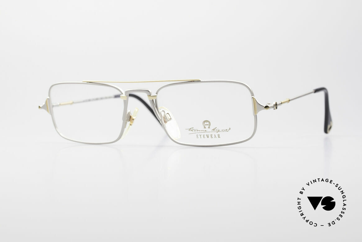 Aigner EA44 Rare 80's Vintage Eyeglasses, Etienne Aigner vintage designer glasses of the 80s, Made for Men