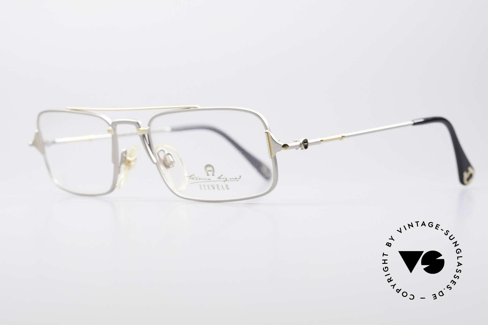 Aigner EA44 Rare 80's Vintage Eyeglasses, true luxury vintage eyewear - just precious & rare!, Made for Men