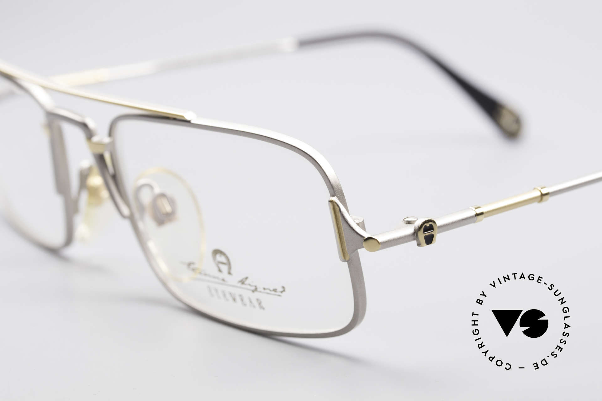 Aigner EA44 Rare 80's Vintage Eyeglasses, a 'MUST-HAVE' for all lovers of quality and fashion, Made for Men