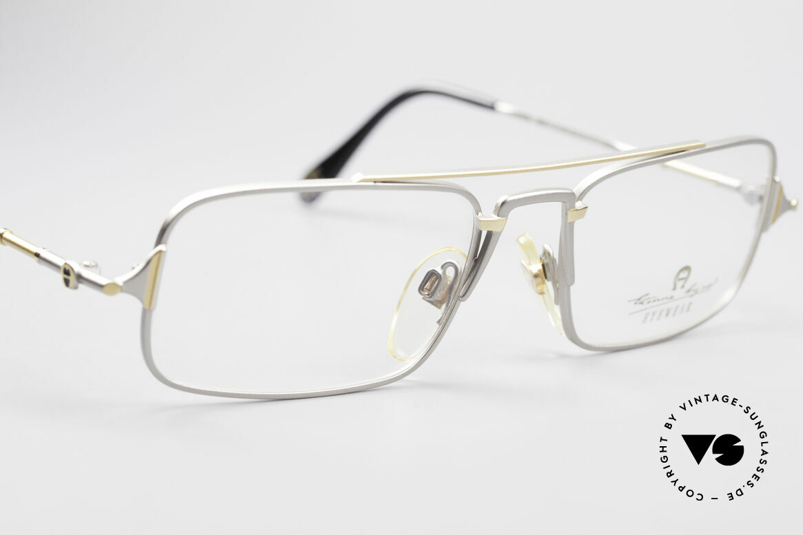 Aigner EA44 Rare 80's Vintage Eyeglasses, never worn (like all our rare 80's Aigner eyeglasses), Made for Men