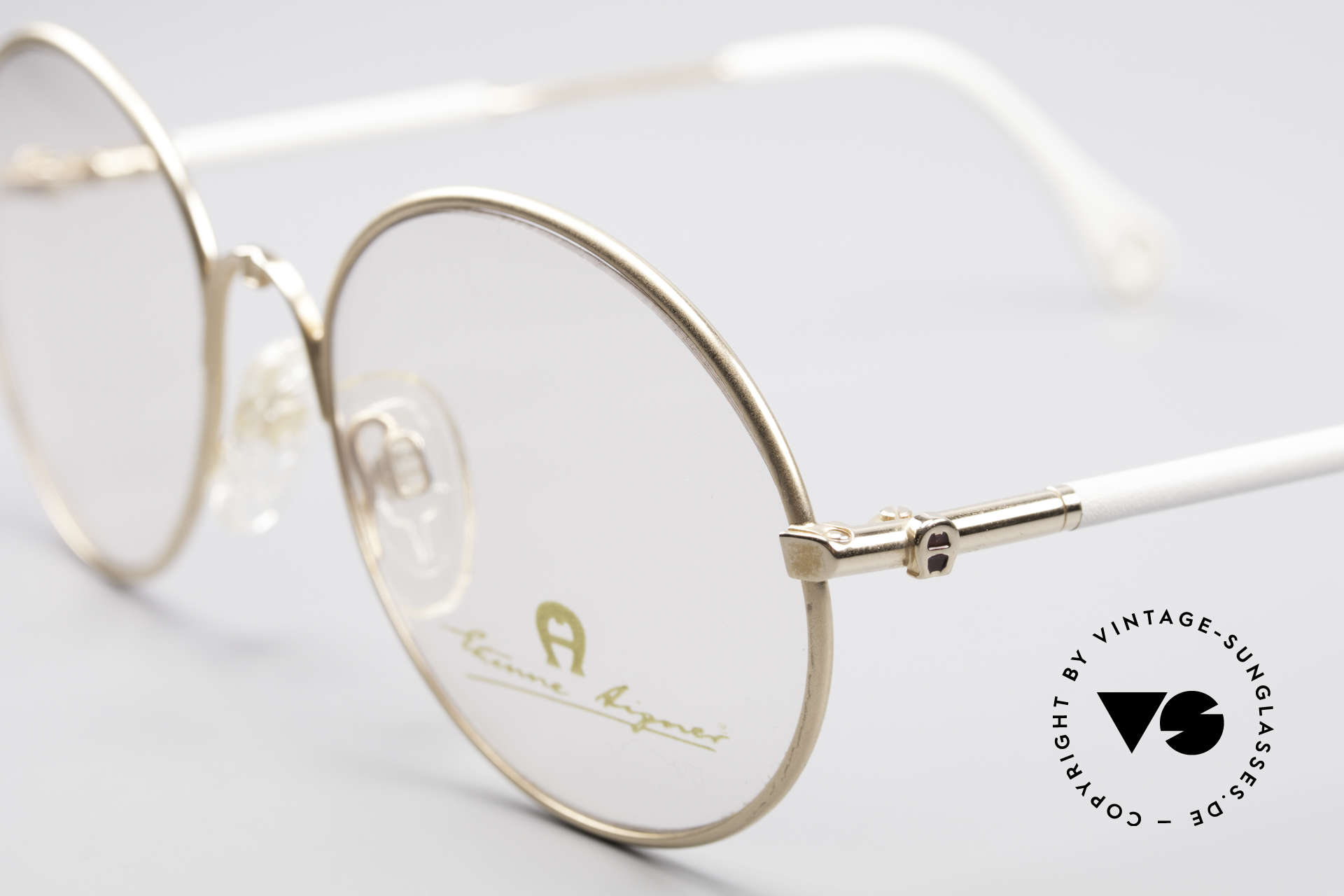 Aigner EA13 Small Round 80's Eyeglasses, a 'MUST-HAVE' for all lovers of quality and fashion, Made for Women