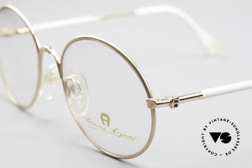 Aigner EA13 Small Round 80's Eyeglasses