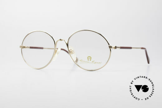 Aigner EA13 Round 80's Luxury Glasses Details