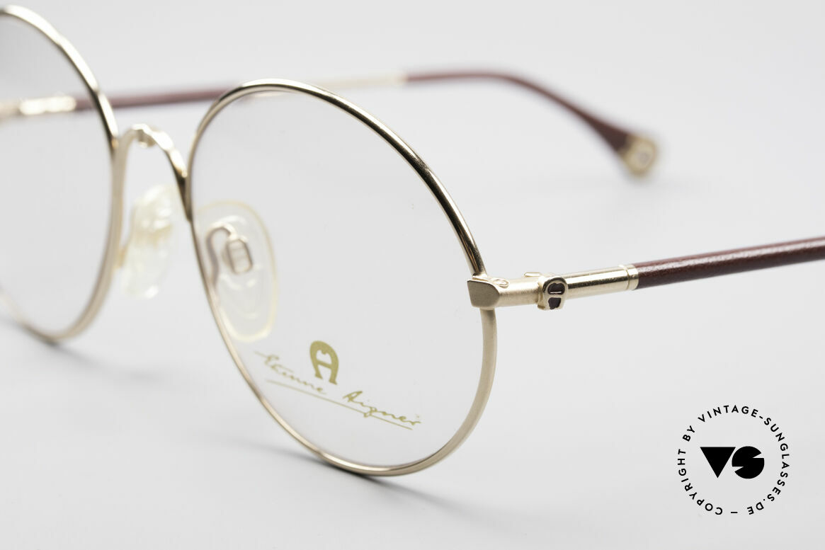 Aigner EA13 Round 80's Luxury Glasses, a 'MUST-HAVE' for all lovers of quality and fashion, Made for Men and Women