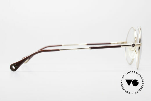 Aigner EA13 Round 80's Luxury Glasses, NO RETRO specs, but a vintage ORIGINAL with case, Made for Men and Women