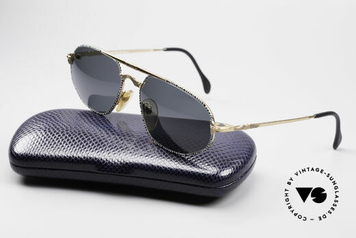 Morgan Motors 804 Oldtimer Sunglasses, NO retro fashion, but a unique piece with Jullien case, Made for Men