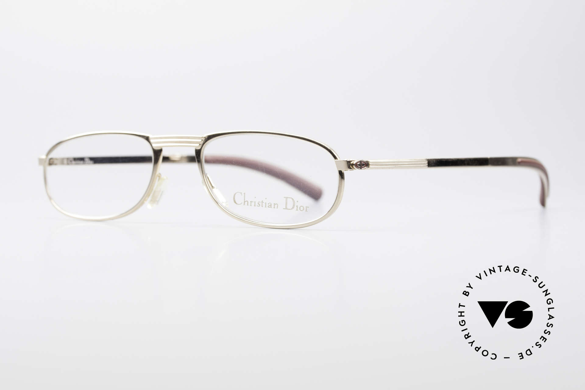 Christian Dior 2727 Designer Reading Eyeglasses, made approx. 1988 in Austria; high-end quality, Made for Men