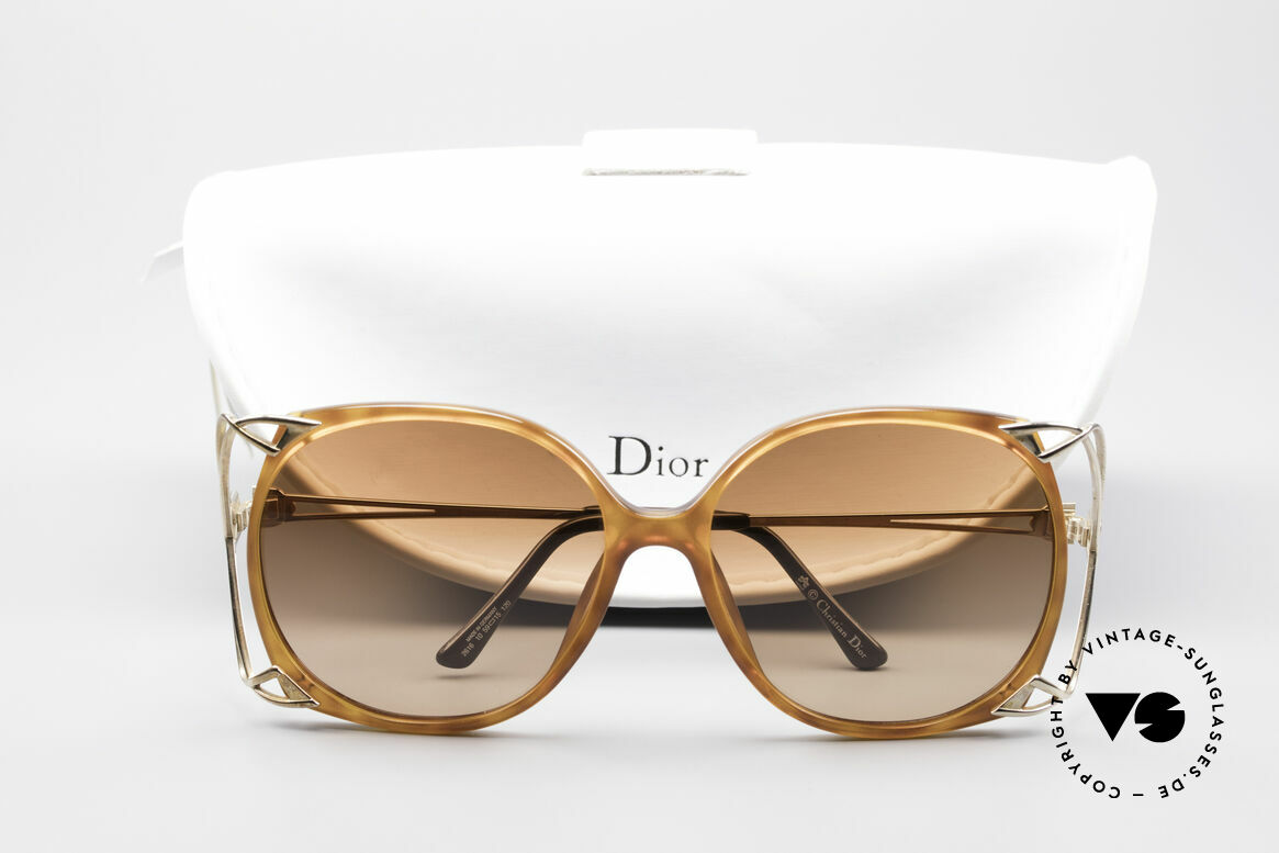 Christian Dior 2616 80's Ladies Sunglasses XXL