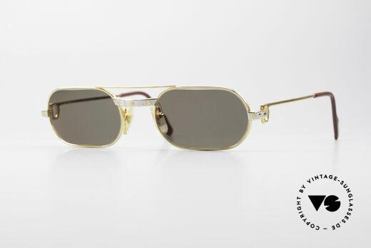 fe1fc42a47 Cartier MUST Santos - S Elton John Sunglasses Details